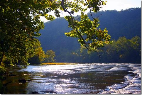 New River at Foster Falls