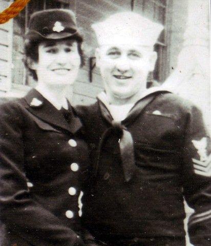 Mom & Dad on their wedding day in Port Deposit, MD